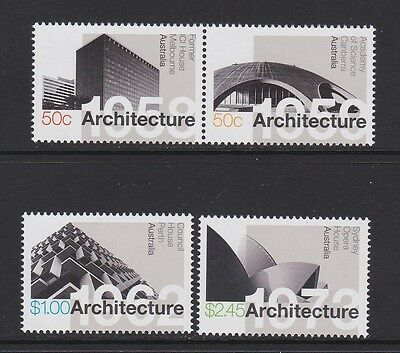 Australia 2007 : Landmarks - Australian Modernist Architecture, Set of 4 Stamps