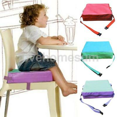Toddler Baby Booster Seat for Dining Chair Dismountable Adjustable Quick Release