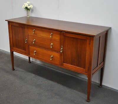 Lovely Antique Blackwood Sideboard * Buffet * Tv Stand  c1920s