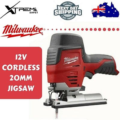 Milwaukee Cordless 20MM Jig Saw Skin 12V