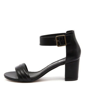 New I Love Billy Granted Black Womens Shoes Casual Sandals Heeled