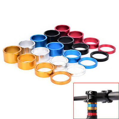 4pcs Bicycle Headset Spacer MTB Road Bike Headset Washer Front Stem Fork Spacer