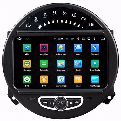 Ouchuangbo car gps radio for mini cooper 2006-2013 with wifi BT aux android 7.1