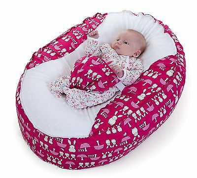 Baby Bean Bag Chair !!!new Unique Design!!! ** Pink Bunnies**