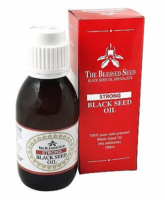 The Blessed Seed Black Seed Oil Strong 100ml The Worlds Strongest Black Seed Oil