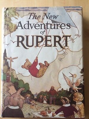 The New Adventures Of Rupert 1936 Numbered Facsimile Edition