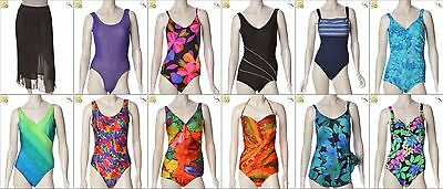 JOB LOT OF 60 VINTAGE SWIMSUITS - Mix of Era's, styles and sizes (23710)