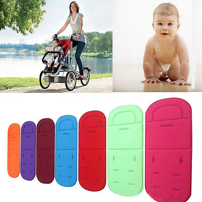 Baby Infant Colorful Pushchair Mat Liner Cushion Cover Stroller Buggy Pram Seat