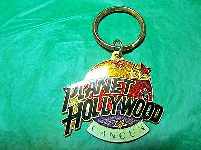 Planet Hollywood Cancun Mexico Travel Souvenir Key Ring (391)