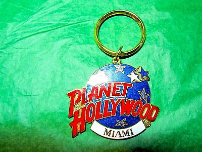 Planet Hollywood Miami Florida Travel Souvenir Key Ring (389)