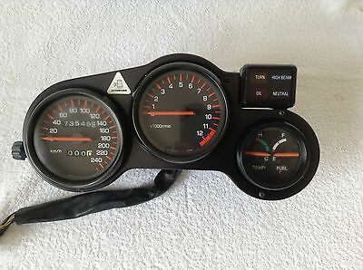 YAMAHA FZ 750 (1FN 1986) INSTRUMENT CLUSTER, Combiné Instrument