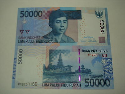 2014 Indonesia 50000 Rupiah GEM UNCIRCULATED Banknote.Best Quality+Lowest Price