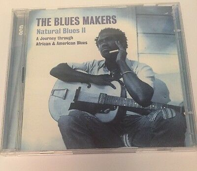 CD Music Various Artists Blues Makers Natural Blues 2 disc II African & American