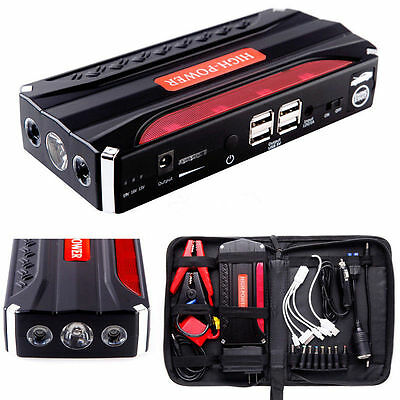 Jump Starter 68800mAh Car Booster Jumper Power Battery Charger for Petrol Laptop
