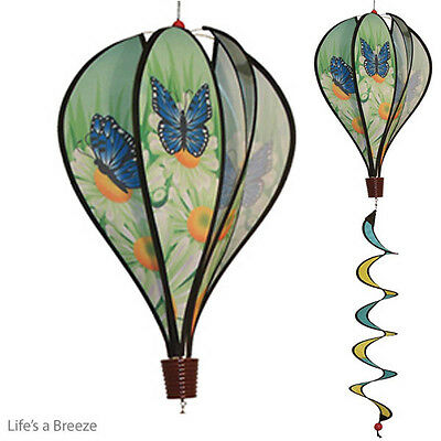 Butterfly Balloon Windsock.  Telescopic Flag Poles. Garden And Camping Use.