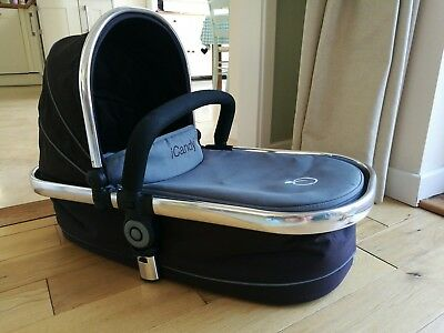 iCandy peach carrycot with mattress in grey great condition
