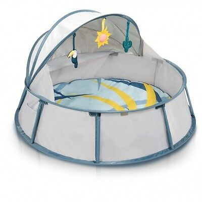 Babymoov Babyni Travel Cot & Play Tent - Tropical - NEW