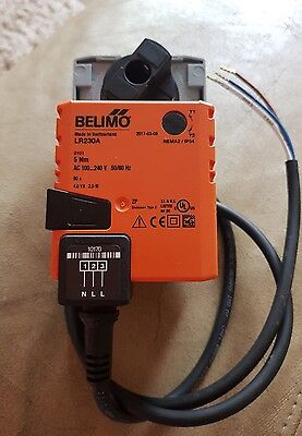 Belimo LR230A valve actuator ac 230v 5nm  3 wires