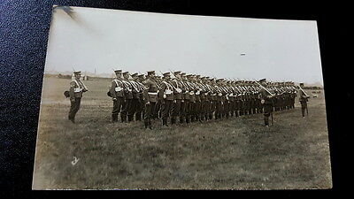 Rare Photographic Military Postcards Of Redcar Territorials Dated From 1908