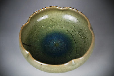 A Fine Collection of Chinese 12thC Jun Ware Agate Glaze Porcelain Brush Washers