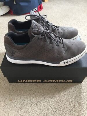 Under Armour Golf Shoes (Trainer Style) Size 8.5 - RRP £119 - Suede