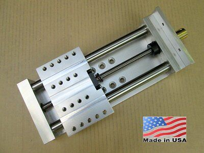 """Z Axis 4.5"""" ++ Fast-Travel ++ ANTI-BACKLASH ++ Linear Slide CNC Router Actuator"""