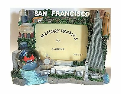 San Francisco Picture Frame with Snow Globe