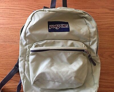 Jansport Backpack Light Green Gently Used