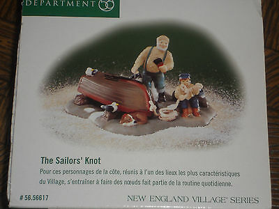 "Dept 56  New England Village Series ""THE SAILORS' KNOT""  # 56617"