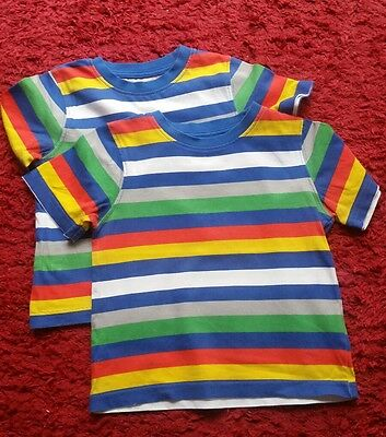 Mothercare Twin Boys Tshirts 18-24 months