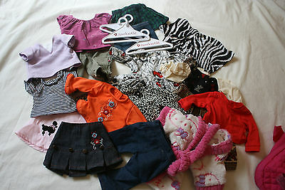 American Girl doll OUR GENERATION lot hangers girl sized BACKPACK doll carrier