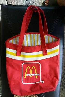 McDonald's tote red french fry bag