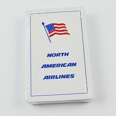 North American Airlines USA Spielkarten Flugzeug Airline Playing Cards