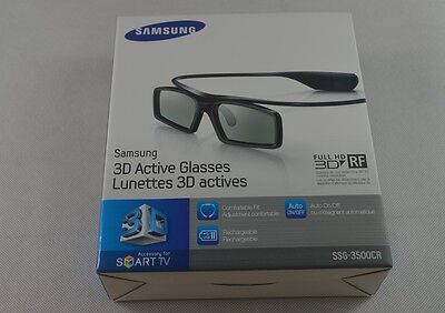 SAMSUNG Rechargeable 3D Active Shutter Glasses SSG-3500CR2011 12 13 14 15TV LED