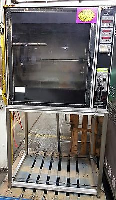 Henny Penny Single Door Rotisserie on Stand SCR-8