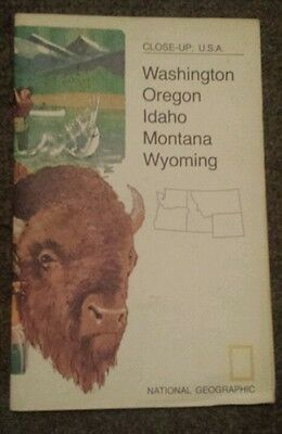 National Geographic Map of the Northwest USA (March 1973)