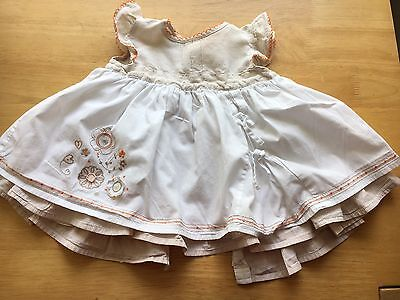 Mamas And Papas Baby Girl Dress 9-12 Months