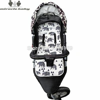 Baby Diaper Pad Stroller Cushion Cotton Seat Pad For Baby Stroller