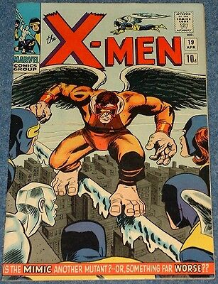 THE X-MEN # 19 (1966) - 1st appearance of The Mimic - Silver Age Marvel Classic!