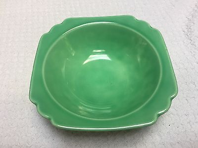 Homer Laughlin Riviera Green Oatmeal Bowl