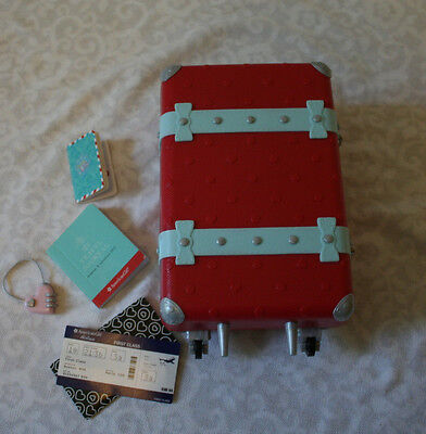 American Girl of the Year GRACE SUITCASE w/ accessories TRULY ME