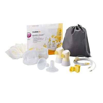 Medela Sonata Breast Pump Double Pumping Parts Kit Accessories