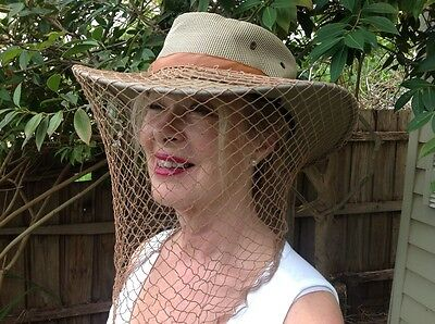 FoxFly hat flynet to keep you flyfree in style