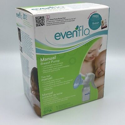 Evenflo Manual Breast Pump - Brand New - Unopened Even Flo Flow