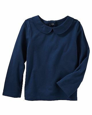 OshKosh  Toddler Girls' Peter Pan Collar Top   MSRP$22.00    2T--5T