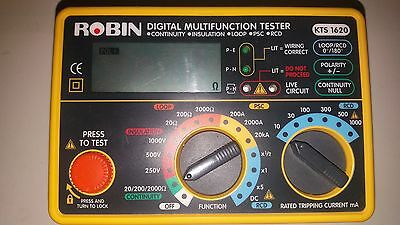 Calibrated Robin KTS1620 KTS 1620 Multifunction Tester