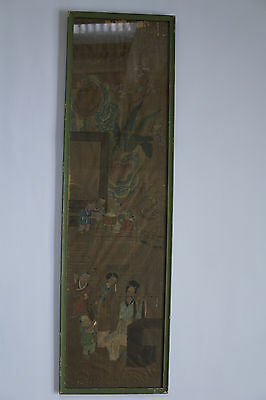 Chinese Ming Dynasty Silk Painting