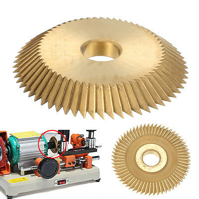 High Speed Steel Locksmith Blade Key Machine Disc Blade Cutting Tool Cutter