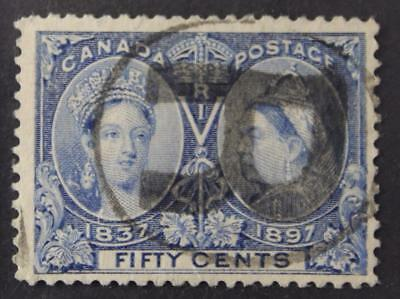 Canada #60 Used, Nicely Centered Queen Victoria Jubilee Series, 1897