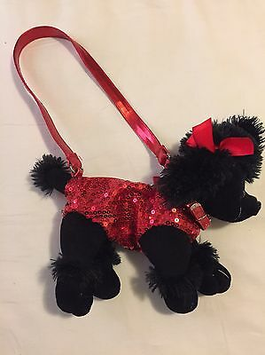 Girls Sequin Dog Purse